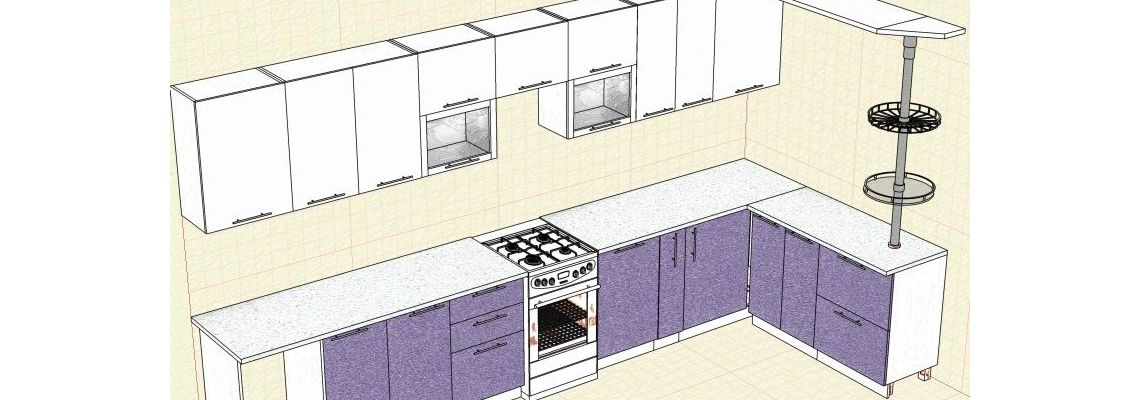 Кухня Губкинсикий 1