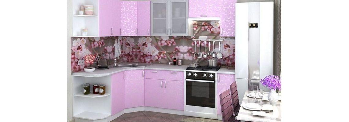 Ирис  ЛДСП, угловая кухня