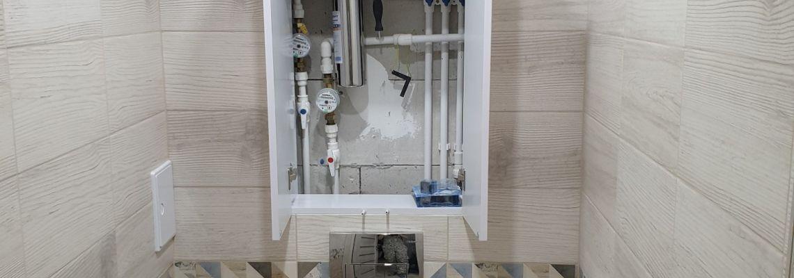 Мебель в ванную Белый глянец