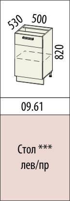 Стол Оранж 09.61