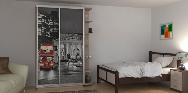 Шкаф-купе Дуо Фото Лондон