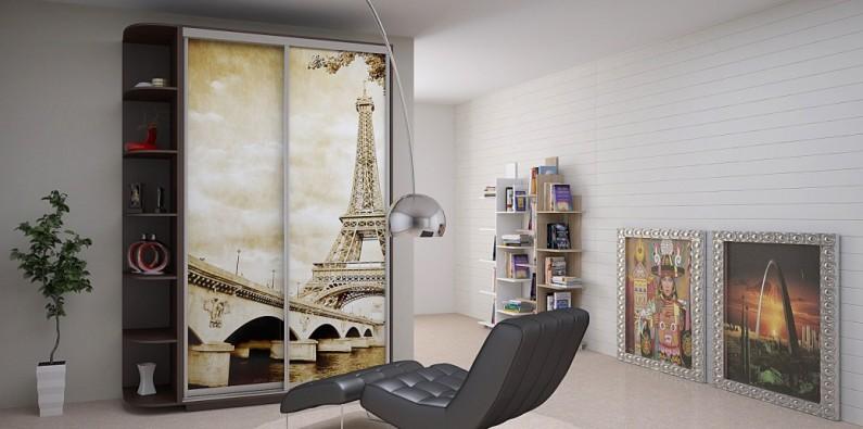 Шкаф-купе Дуо Фото Париж