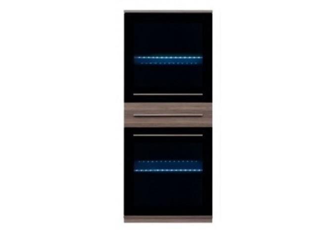 Шкаф настенный с подсветкой LIKE S-143-SFW2W1S_14_6