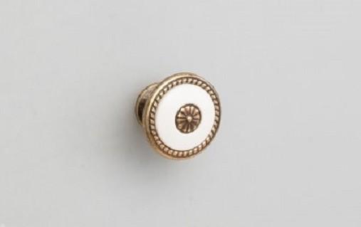 Ручка-кнопка FB027 Бронза