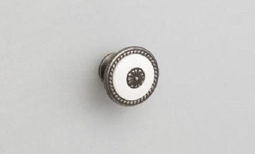 Ручка-кнопка FB027 Старое олово