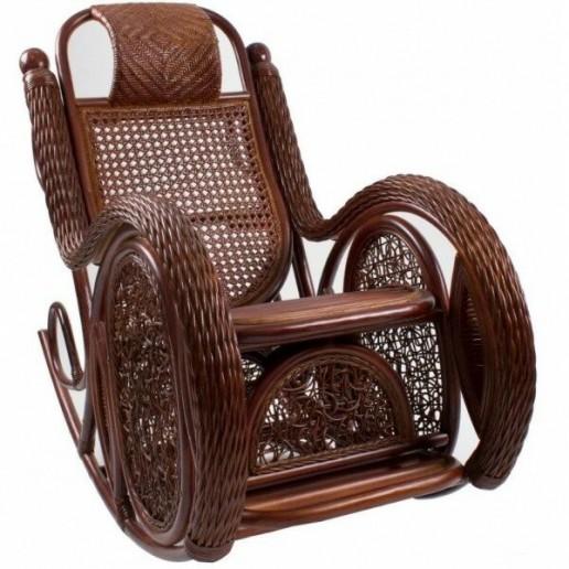 Кресло-качалка Alexa (TWIST) с подушкой