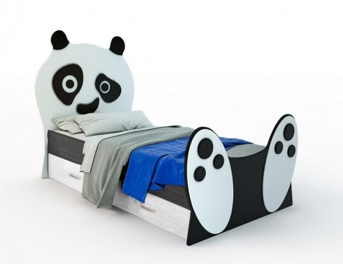 Кровать Панда с ящиками