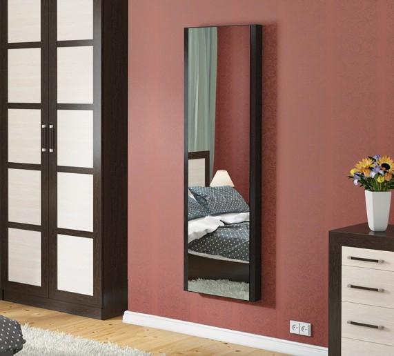 Панель с зеркалом со встроенной гладильной доской Тип 1