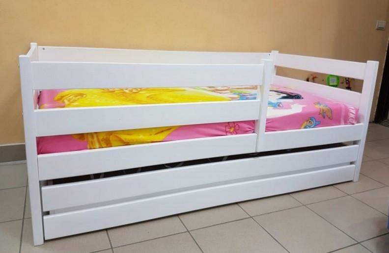 Кровать Сонечка. Манеж с ящиком, передним и задним бортиком, Правый/Левый