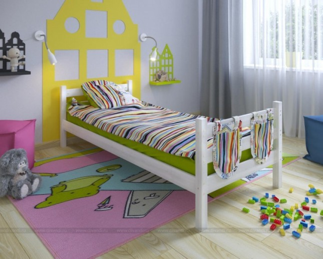 Кровать Сонечка одноярусная