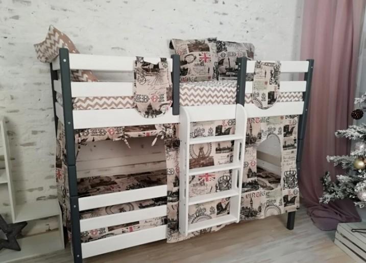 Лестница прямая к кроватям Сонечка