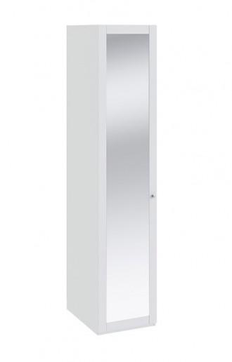 Шкаф для белья с 1-й дверью с зеркалом Ривьера