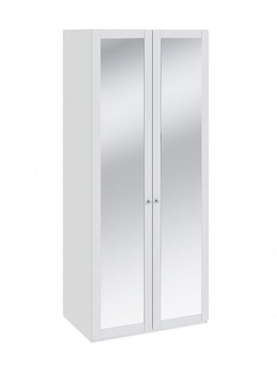 Шкаф для одежды с 2-мя зеркальными дверками Ривьера