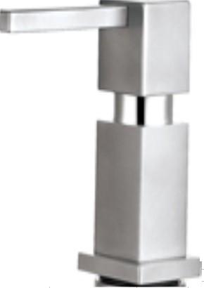 Дозатор для жидкого мыла Квадро нержавеющая сталь