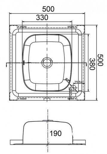 Мойка Emar ЕМ-5050
