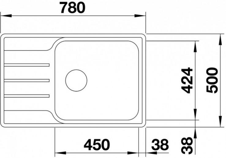 Мойка Blanco Lemis XL 6 S-IF Compact