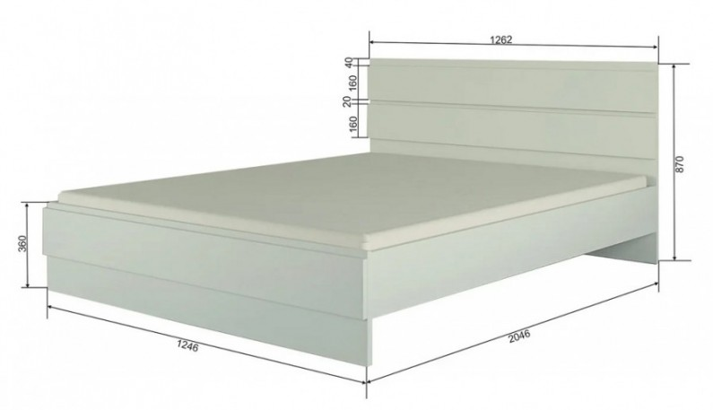 Кровать СР12 Руанда