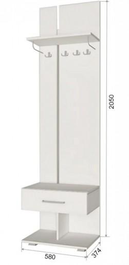Вешалка с ящиком ПД5 Джара