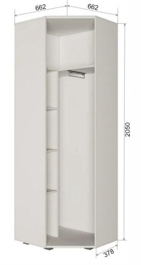 Шкаф угловой ПД7 Джара