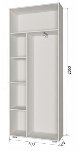 Шкаф двухстворчатый ПД1 Джара