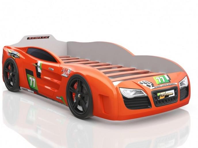 Кровать-машина R2 оранжевый