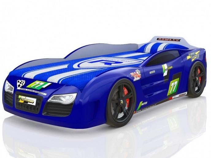 Кровать-машина R2 синий