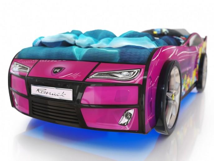 Кровать-машина  KIDDY сиреневый