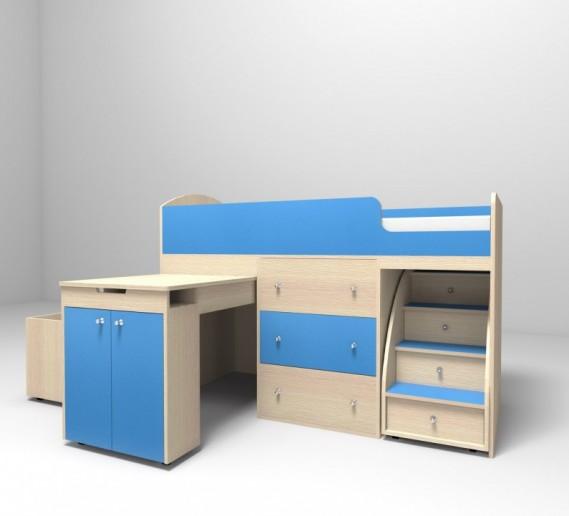 Кровать-чердак Малыш 1600