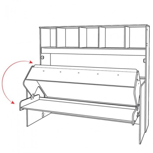 Кровать-трансформер Доминика 465