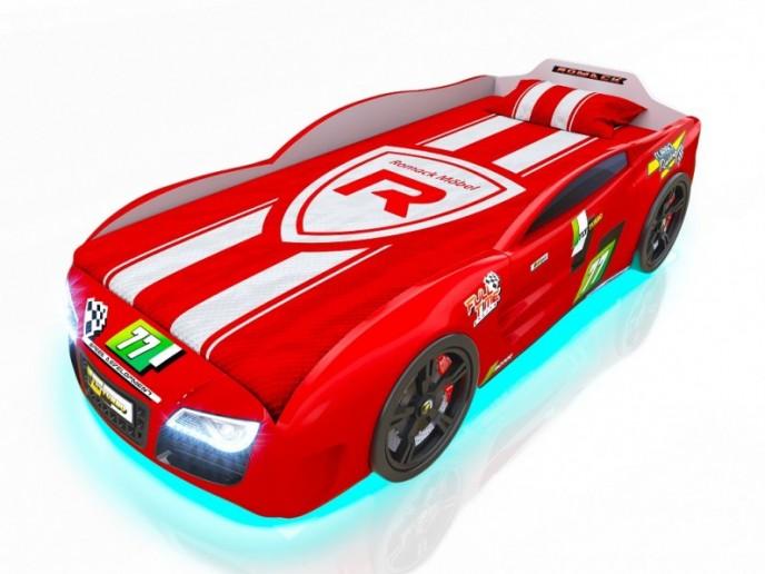 Кровать-машина R2 красный
