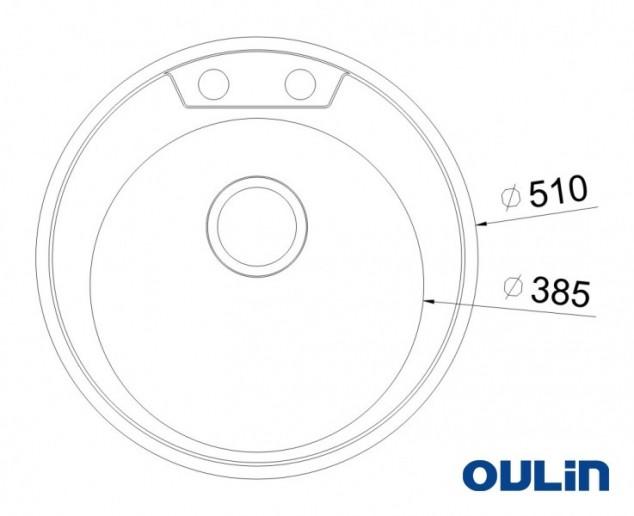 Мойка OULIN OL-R 510
