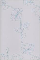 Белые лазерные цветы